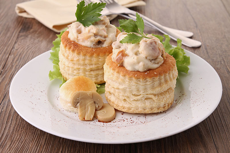 Vol au vegan